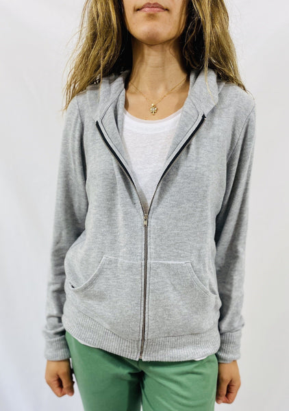 Beautiful People Hoodie in Heather Grey