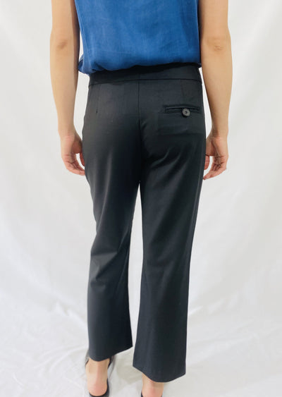 Ei8htdreams Crop Trouser in Black