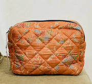 Ellies and Ivy Wash Bag in Orange
