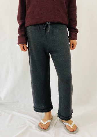 Leylie Sunday Morning Sweats in Charcoal