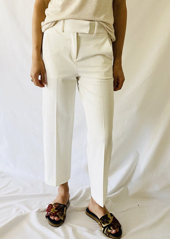 Circolo Wide Leg Pants in Latte
