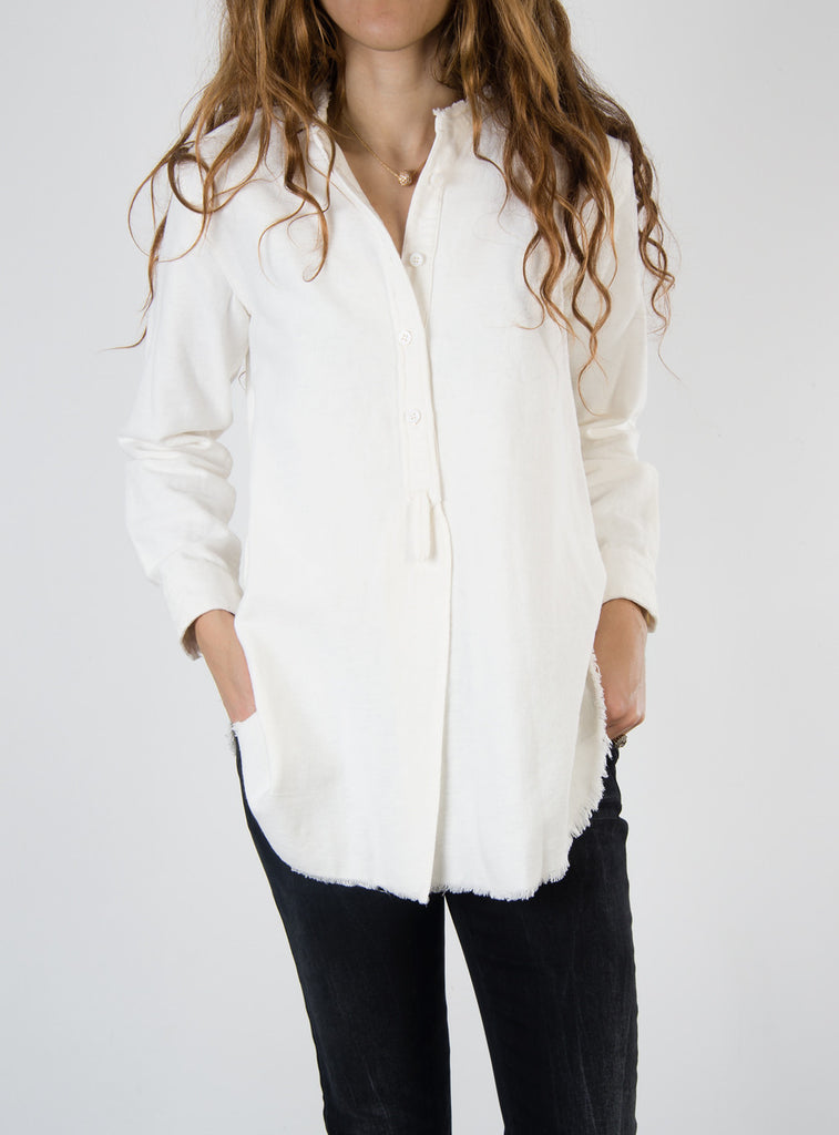 Leylie Alice Shirt in Off-White