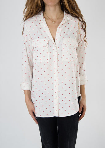 Leylie Ari Shirt in Bird Print