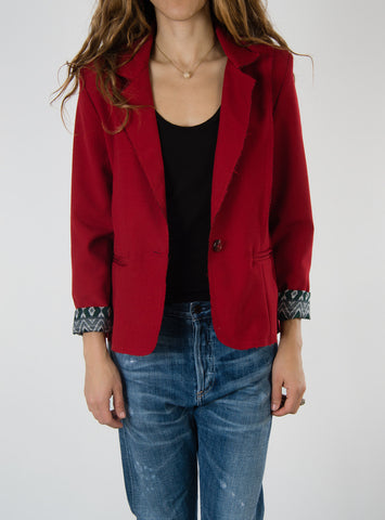 Leylie Francine Blazer in Red