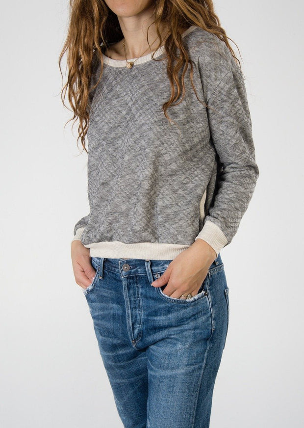 Leylie Allegra Sweatshirt in Grey