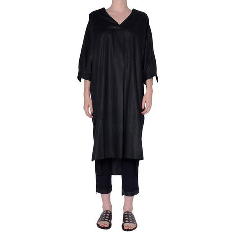 Elaine Kim Sunset Dress in Black