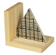 Wolfum Bookend Rampli Triangular Bookend
