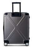 "INFINITY Polycarbonate 22"" Carry-On Luggage - Gun Metal"