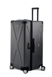 INFINITY Polycarbonate Checked 30'' Luggage - Gun Metal