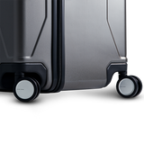 INFINITY Polycarbonate Checked 28'' Luggage - Gun Metal