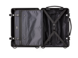 "INFINITY Aluminum 20"" Carry-On Luggage - Black"