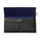 BUSINESS CLASSIC Long Wallet - Black/Purple