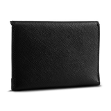 BUSINESS CLASSIC - Card Holder - Black/Royal Purple