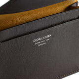 BUSINESS CLASSIC Card Holder - Dark Brown - Dark Brown/Yellow Ochre
