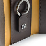 ACCESSORIES COLLECTION Key Holder - Dark Brown/Yellow Ochre