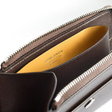 ACCESSORIES COLLECTION Compact Pouch - Dark Brown/Yellow Ochre