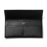 BUSINESS CLASSIC Long Wallet - Black/Black