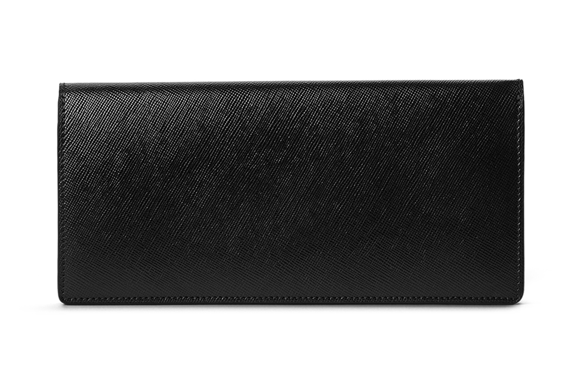 BUSINESS CLASSIC - Long Wallet - Black/Blck