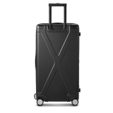 INFINITY Polycarbonate Checked 28'' Luggage - Black
