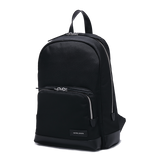PURITY Leather-Trimmed Nylon Backpack - L / Black