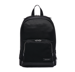 PURITY Leather-Trimmed Nylon Backpack - S / Black