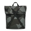 INFINITY Leather-Trimmed Nylon Backpack - Camouflage