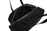 MUUTOS Leather-Trimmed Nylon Duffle Bag - L / Black