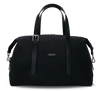 MUUTOS Leather-Trimmed Nylon Duffle Bag - M / Black
