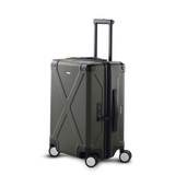 "INFINITY Polycarbonate 20"" Carry-On Luggage - Grey"