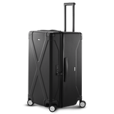 INFINITY Polycarbonate Checked 30'' Luggage - Black