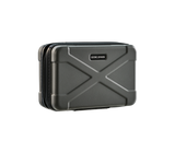 Hard Shell Toiletry Case - Gray