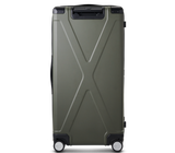INFINITY Polycarbonate Checked 30'' Luggage - Grey