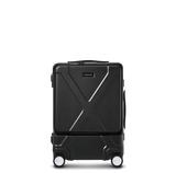 "INFINITY Polycarbonate 20"" Front Pocket Carry-On - Black"