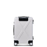 "INFINITY Polycarbonate 20"" Front Pocket Carry-On - White"