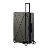 INFINITY Polycarbonate Checked 29'' Luggage - Gray