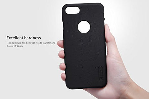 Nillkin Frosted Shield Hard Back Cover Case For Apple iPhone 7 (4.7 inch)- Black