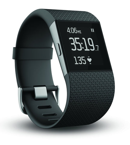Fitbit Surge Ultimate Fitness Super Watch, Large