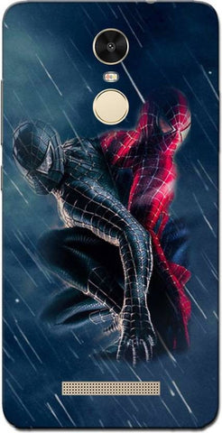 Cell First Back Cover for Xiaomi Redmi Note 3 (Spiderman)