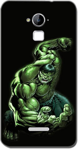 Cell First Back Cover for Coolpad Dazen Note 3 - Hulk