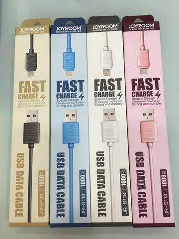 JOYROOM S118 2.4A Fast Charging USB/IOS Cable
