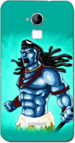 Cell First Back Cover for Coolpad Dazen Note 3 - Lord Shiva