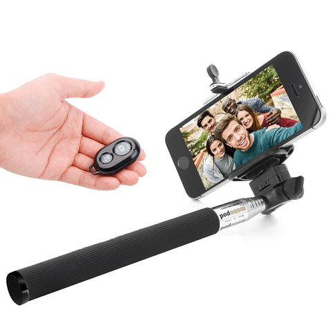 Selfie Stick for iPhone and Android Mobiles, DMG Selfie Stick Monopod with Clicker