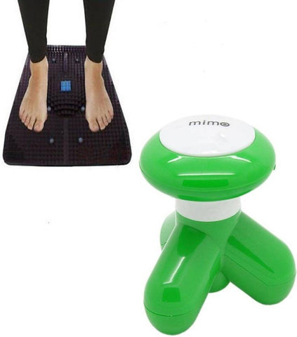 Pushcart Relief Mat and Mini Massager Combo