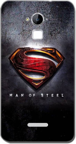 Cell First Back Cover for CoolPad Dazen Note 3 - Superman