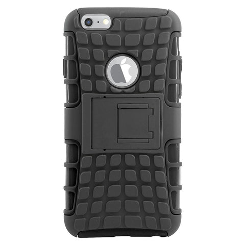 DMG Hybrid Kick stand Armor Case for Apple iPhone 6s / iPhone 6 (Black)