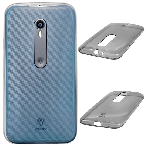 DMG inKax Premium Scratch-Resistant TPU Back Cover Case for Motorola Moto G3
