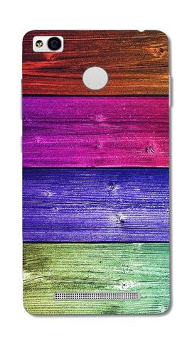 Cell First Designer Back Cover For Xiaomi Redmi 3S  - Wooden Colored
