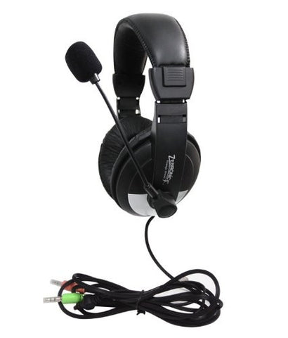 Zebronics ZEB- 100HM Multimedia Headphone with Mic