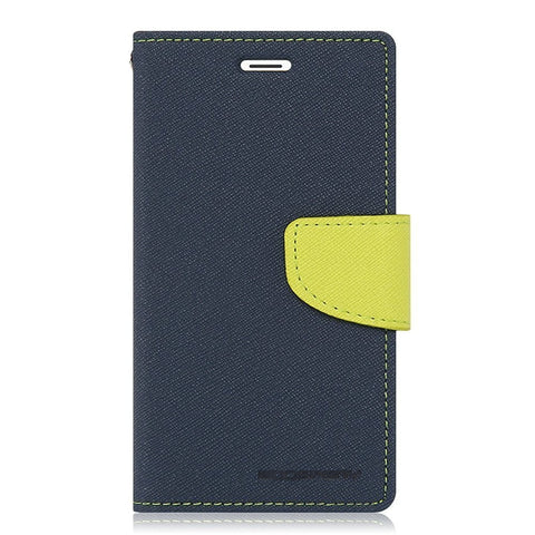 DMG Mercury Goospery Fancy Diary Wallet Flip Cover Case for Apple iPhone 6 / 6S 4.7inch (Pebble Blue)