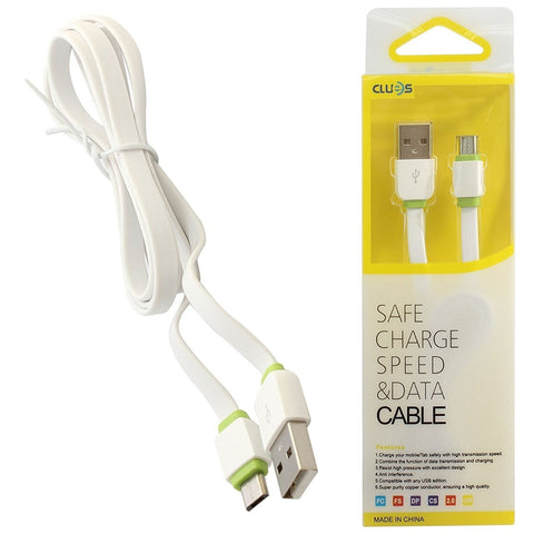 LDNIO Clues Premium Tangle Free Micro-USB Sync and Fast Data Transfer Cable XS-07B for Android Phones and Tablets